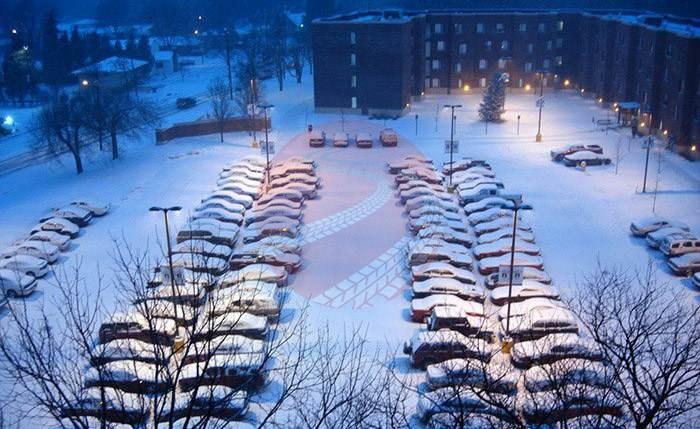 Testy opon zimowych