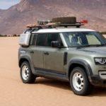 Nowy Land Rover Defender wraca na oponach Goodyear